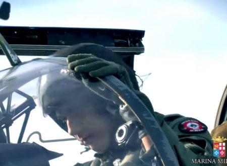 Spot Accademia Marina Militare per diventare piloti di AV-8B Harrier II+