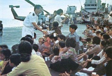 Quando la Marina Militare attivava i soccorsi in Vietnam