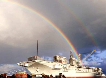Spettacolare lancio di un arcobaleno dal ponte del Trieste!