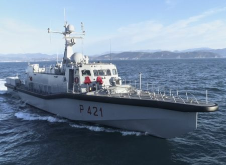Intermarine consegna alla Marina Militare l'UNPAV Tullio Tedeschi
