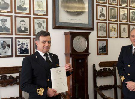Un ufficiale della Marina Militare tra i neodottori di ricerca Unife