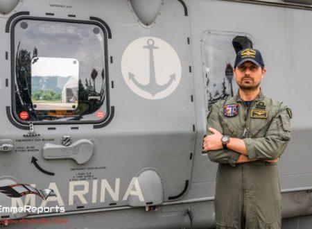 Capitano di Fregata Andrea Pingitore: un Test Pilot della Marina contro il COVID-19