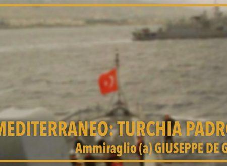 Mediterraneo: Turchia padrona.