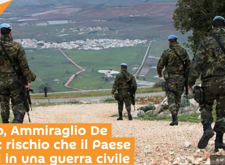 Libano, Ammiraglio De Giorgi: rischio che il Paese scivoli in una guerra civile