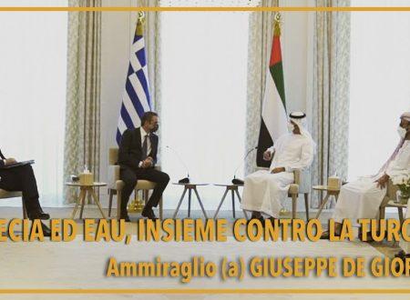 Grecia ed Emirati Arabi Uniti, insieme contro la Turchia?