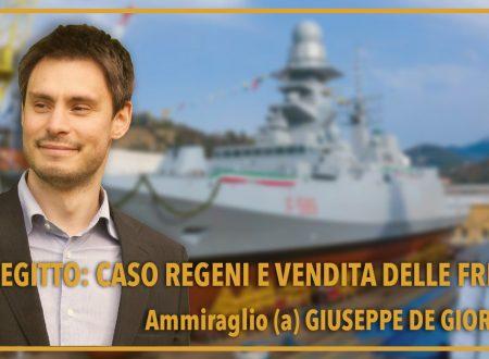 Italia-Egitto: caso Regeni e vendita delle FREMM
