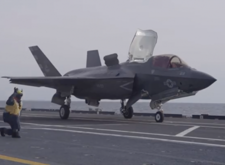 Nave Cavour e F35B