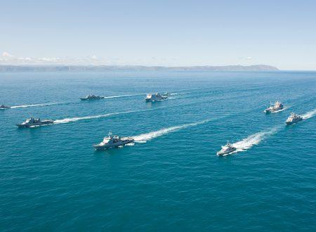 Un mese di esercitazioni per la marina militare cinese
